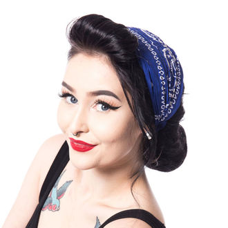 šátek (čelenka) Rockabella - BAND TWO - BLUE, ROCKABELLA