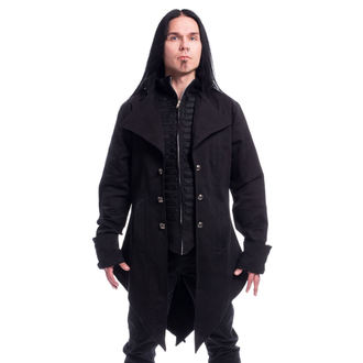 kabát pánský POIZEN INDUSTRIES - BARNES - BLACK, POIZEN INDUSTRIES