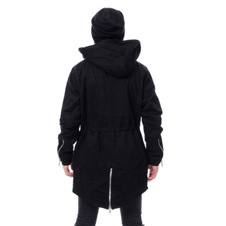 bunda pánská CHEMICAL BLACK - BASTIAN PARKA - BLACK, CHEMICAL BLACK