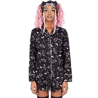 košile dámská (pyžamo) KILLSTAR - Batty, KILLSTAR