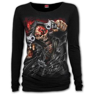 tričko dámské s dlouhým rukávem SPIRAL - Five Finger Death Punch - ASSASSIN, SPIRAL, Five Finger Death Punch