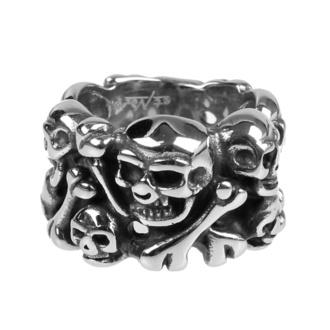 prsten ETNOX - Skulls - SR1417