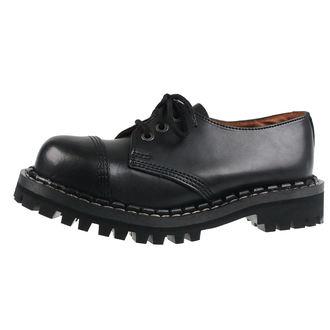 boty STEADY´S - 3 dírkové - Black, STEADY´S