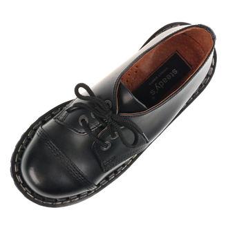 boty STEADY´S - 3 dírkové - Black - STE/3_black