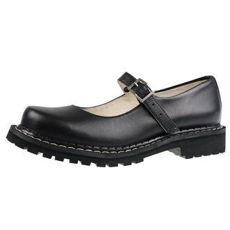 boty dámské (baleríny) STEADY´S - Rock black, STEADY´S