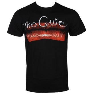 tričko pánské THE CURE - KISS ME LIP BLK - BRAVADO, BRAVADO, Cure
