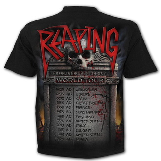 tričko pánské SPIRAL - REAPING TOUR - Black, SPIRAL