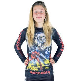 tričko dětské s dlouhým rukávem (technické) TATAMI - Iron Maiden - Number of the Beast - Rash Guard, TATAMI, Iron Maiden