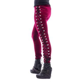 kalhoty dámské (legíny) CHEMICAL BLACK - BEETLE - RED, CHEMICAL BLACK