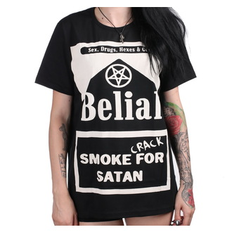 tričko (unisex) BELIAL - Smoke Crack for Satan