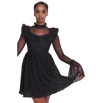 šaty dámské KILLSTAR - Bewitched Lace - BLACK - KSRA001561