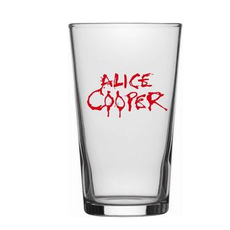 sklenice Alice Cooper - Logo - RAZAMATAZ, RAZAMATAZ, Alice Cooper