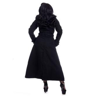 kabát dámský Rockabella - BIANCA - BLACK, ROCKABELLA