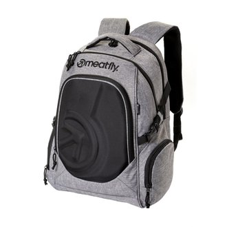 batoh MEATFLY - BLACKBIRD 2 - A - Heather Grey/Black, MEATFLY