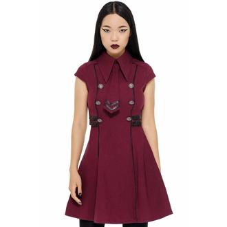 šaty dámské KILLSTAR - Black-Ops - BLOOD, KILLSTAR