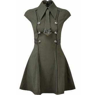 šaty dámské KILLSTAR - Black-Ops - KHAKI, KILLSTAR