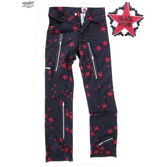 kalhoty pánské Black Pistol - Two Leg Pants Stars - Black/Red - B-1-26-322-04