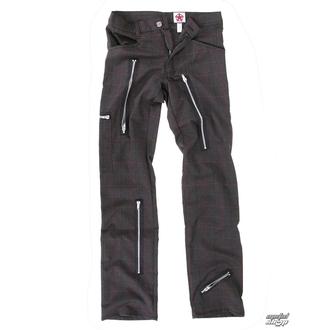 kalhoty pánské Black Pistol - Two Leg Pants Tartan - Grey, BLACK PISTOL