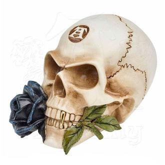 dekorace ALCHEMY GOTHIC - Alchemist Skull with Rose, ALCHEMY GOTHIC