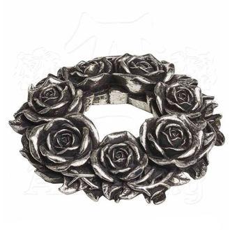 svícen (dekorace) ALCHEMY GOTHIC - Black Rose, ALCHEMY GOTHIC
