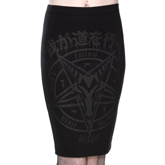 sukně dámská KILLSTAR - Blazing Brimstone - KSRA002525