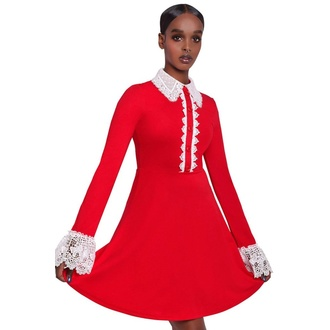 šaty dámské KILLSTAR - Blessed Be Shift - BLOOD - KSRA001557