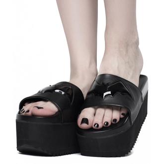 boty dámské (sandály) KILLSTAR - Bloodbath Slides - KSRA002064