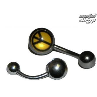 piercingový šperk Peace - BNDJ - 054 - YE - MAMBR