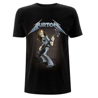 tričko pánské Metallica - Cliff Burton – Squindo Stack - Black, NNM, Metallica