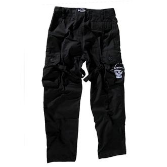 kalhoty pánské BOOTS & BRACES - Pant Nightmare - Black - 300616, BOOTS & BRACES