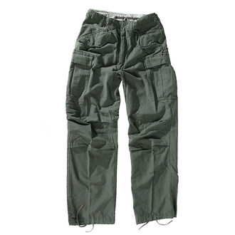 kalhoty pánské MMB - M65 Pant NYCO washed - OLIV - 200201