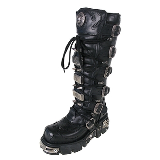 boty NEW ROCK - High Vampire Boot (161-S1) Black