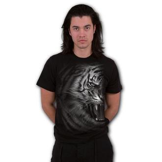 tričko pánské SPIRAL - TIGER WRAP - Black, SPIRAL
