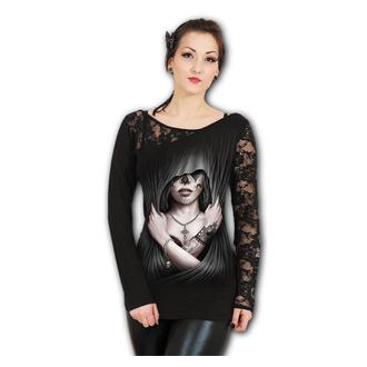 tričko dámské s dlouhým rukávem SPIRAL - DEAD LOVE - Black, SPIRAL