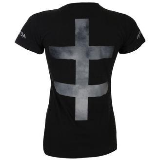 tričko dámské Marilyn Manson - SMOKEY CROSS - BLK - BRAVADO, BRAVADO, Marilyn Manson