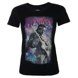 tričko dámské Jimi Hendrix - AUTHENTIC BURST - BLK - BRAVADO, BRAVADO, Jimi Hendrix