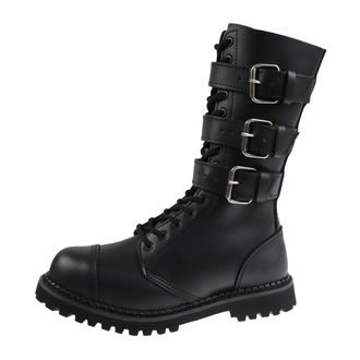 boty BRANDIT - Phantom Boots with Buckle - 9005-schwarz