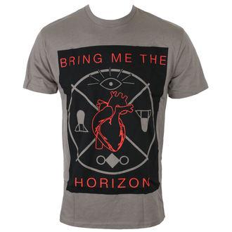 tričko pánské Bring Me The Horizon - HEARTS & SYMBOLS - GRY - BRAVADO, BRAVADO, Bring Me The Horizon