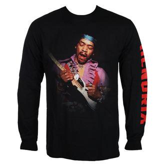 tričko pánské s dlouhým rukávem Jimi Hendrix - AUTHENTIC WAIKIKI BLK - BRAVADO, BRAVADO, Jimi Hendrix