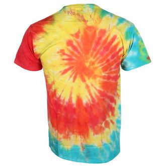 tričko pánské JIMI HENDRIX- TIE DYE LOGO - BRAVADO, BRAVADO, Jimi Hendrix