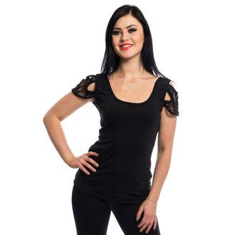 tričko dámské VIXXSIN - BROOKLYN - BLACK, VIXXSIN