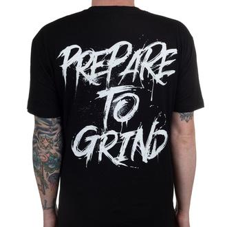 tričko pánské ABORTED - Prepare To Grind - Black - INDIEMERCH, INDIEMERCH, Aborted