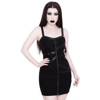 šaty dámské KILLSTAR - Bury Me Bondage Dress - BLACK - KSRA002136