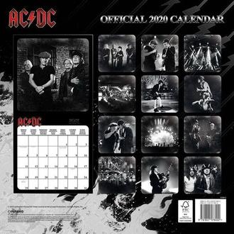 kalendář na rok 2020 - AC/DC - C20011