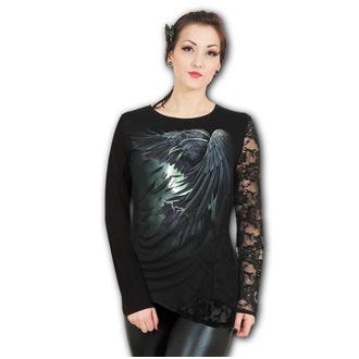 tričko dámské s dlouhým rukávem SPIRAL - SHADOW RAVEN, SPIRAL