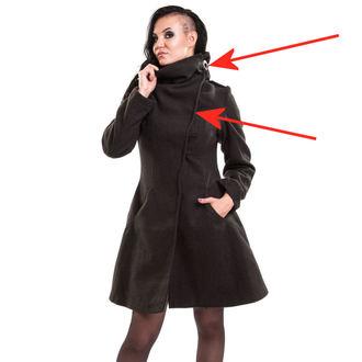 kabát dámský VIXXSIN - Necromancer - Black - POŠKOZENÝ, VIXXSIN