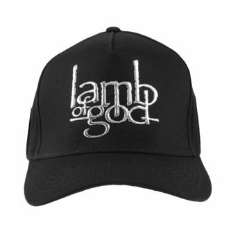 kšiltovka Lamb Of God - Sonic Sliver Logo - ROCK OFF, ROCK OFF, Lamb of God