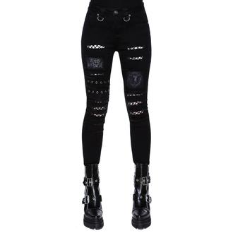 kalhoty dámské KILLSTAR - Carnage Jeans - KSRA002147