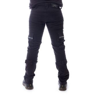 kalhoty pánské VIXXSIN - CARSTEN - BLACK - POI673