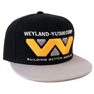 kšiltovka ALIEN - WEYLAND-YUTANI CORP - BLACK/GREY - LEGEND